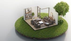 עיצוב בתים קטנים