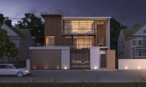 עיצובי בתים בסגנונות שונים